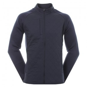 FJ QUILTED JACKET NAVY