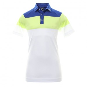 FootJoy Raglan chest stripe