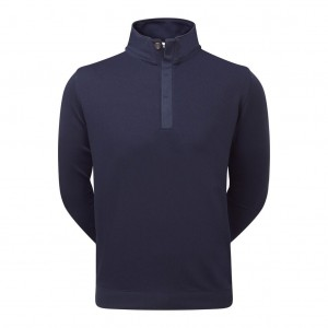 Sweter FootJoy Spun Poly Buttoned