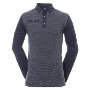 FootJoy Long sleeve  Dot Geo Jacquard