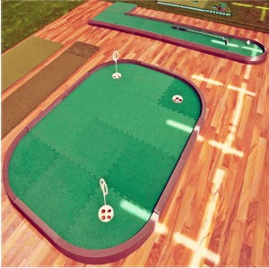 Puzzle Golf Green